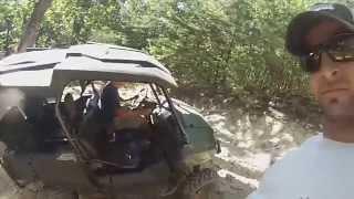 Fast FZ09 | Crazy Hill Climb | Honda Pioneer 700 | Side by Side