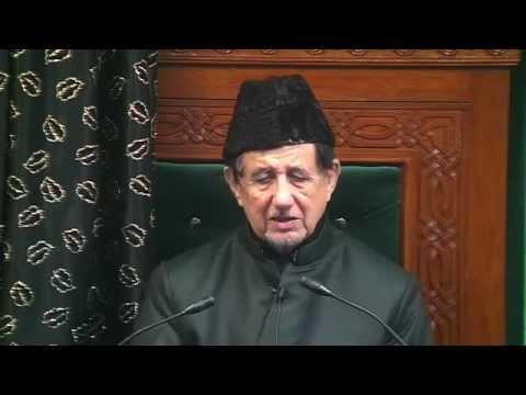 Eve 4th Muharram 1437 - Maulana Dr. Kalbe Sadiq (Urdu)