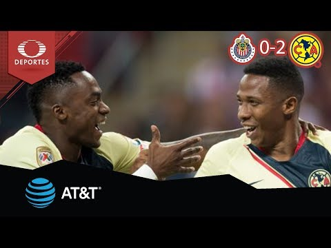Resumen Chivas 0 - 2 América | Clausura 2019 - Jornada 11 | Presentado por AT&T