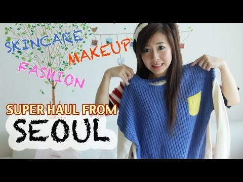 MASSIVE Fashion & Makeup & Skincare Korean Haul