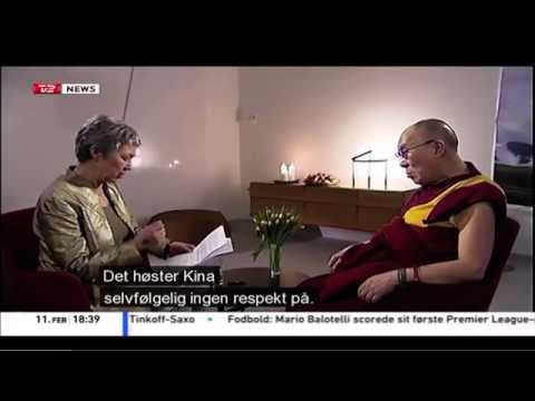 My interview with Dalai Lama in Copenhagen, February 2015.