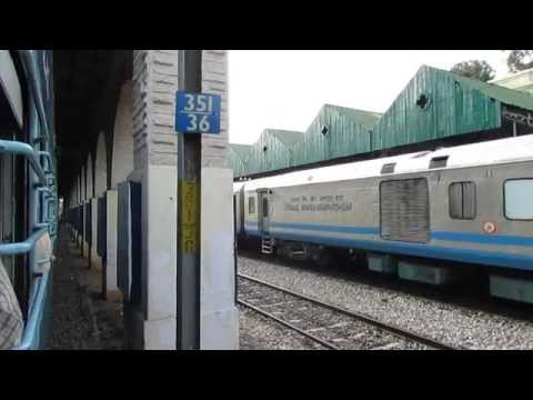 [hd]: Rpm Wap 1 Shatabdi Express Skips Bangalore Cantonment video