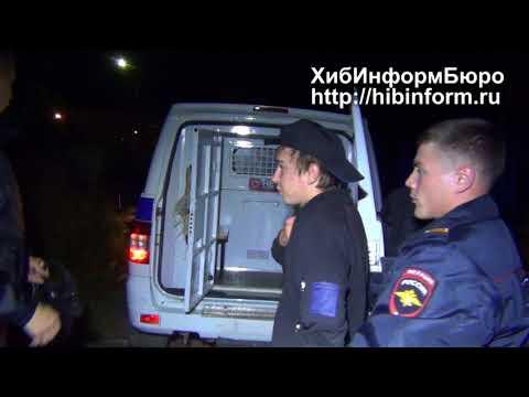 Задержание хулиганов в Апатитах