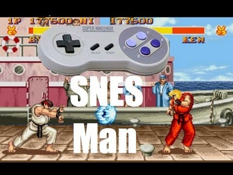 Street Fighter 2 SNES Man Review