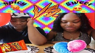 Spicy Vs Sweet Challenge EXTREME !!