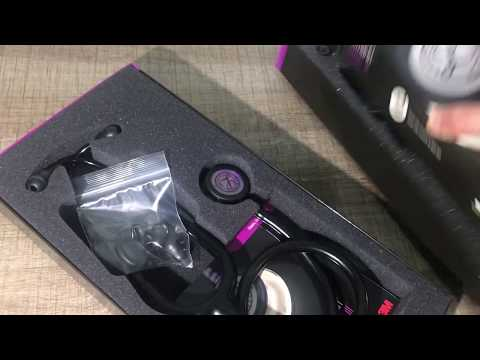 3M Littmann Classic III Fonendoscopio, Edición Especial, negro arcoiris, Campana, Fonendoscopio