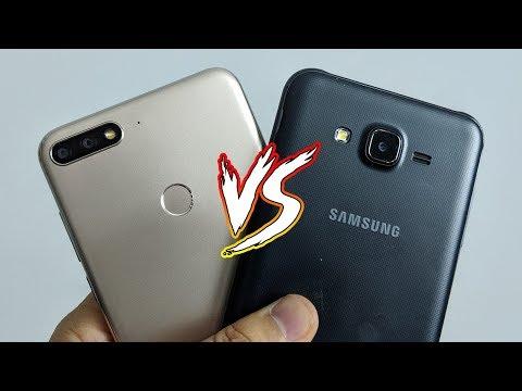 Samsung J7 Core Vs Huawei Y7 Prime 2018   أفضل كاميرا في الفئة المتوسطة