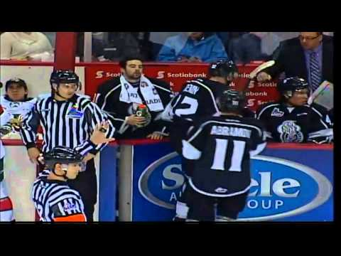 Jan 09, 2016 QMJHL: Vitaly Abramov hat trick vs Halifax Mooseheads