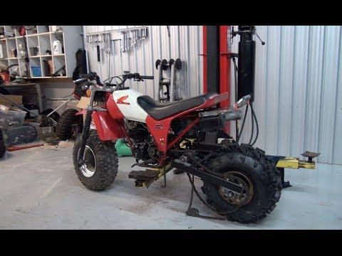 Honda 200x 2 Wheel Conversion Ep 4 Powercat 200x