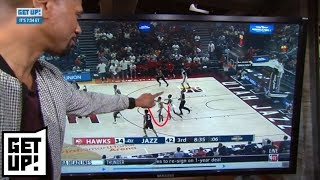 Jalen Rose breaks down film of the Trae Young vs. Grayson Allen scuffle   Get Up!   ESPN