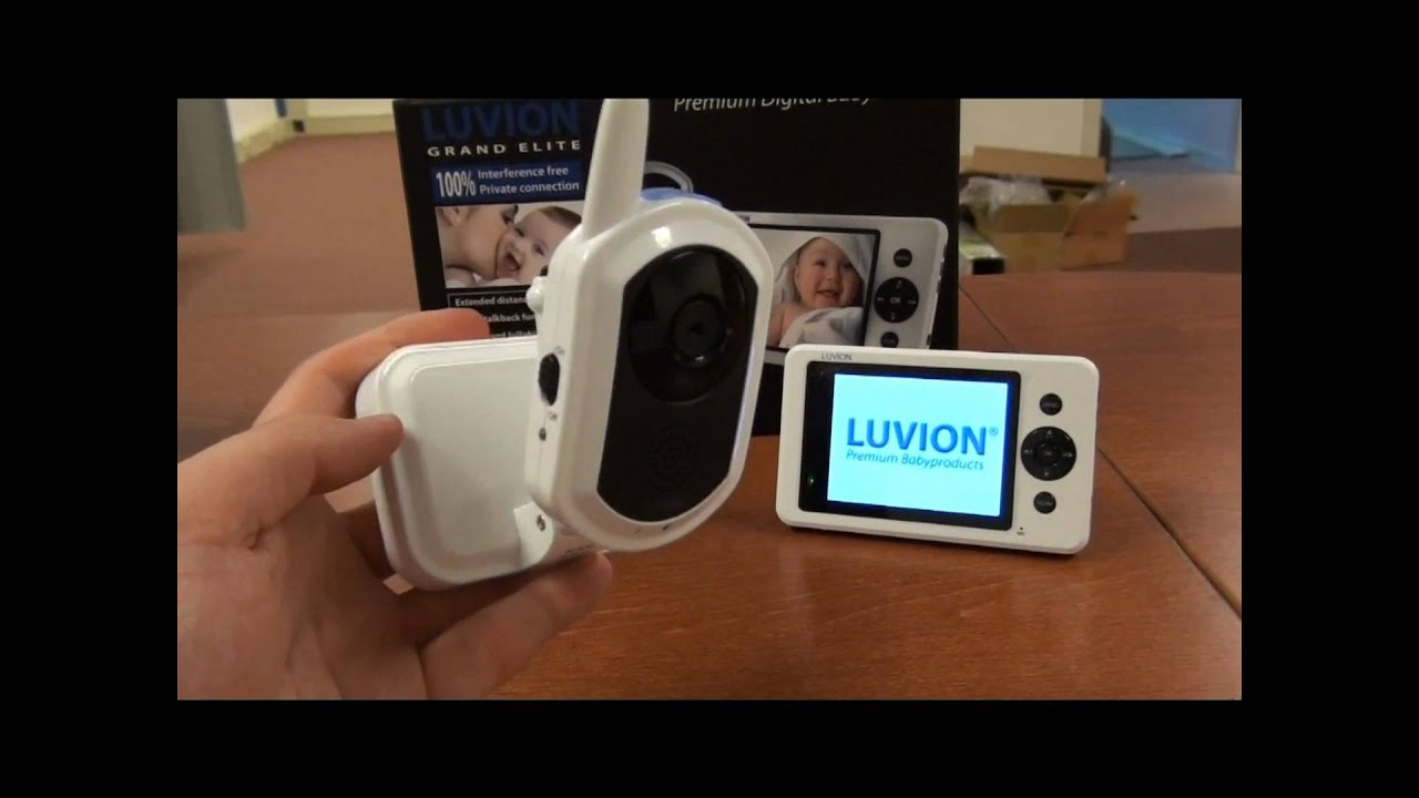 luvion grand elite digital video baby monitor babymonitor review unboxing youtube. Black Bedroom Furniture Sets. Home Design Ideas