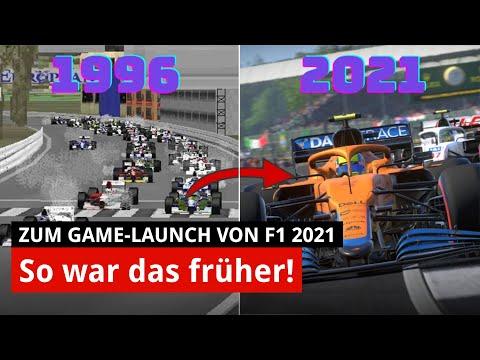"""So waren die alten F1-Games: Von """"Grand Prix 2"""" zu """"F1 2021""""!"""