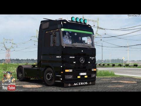 [ETS2] Mercedes Actros MP1 v2.0 + Cabin DLC