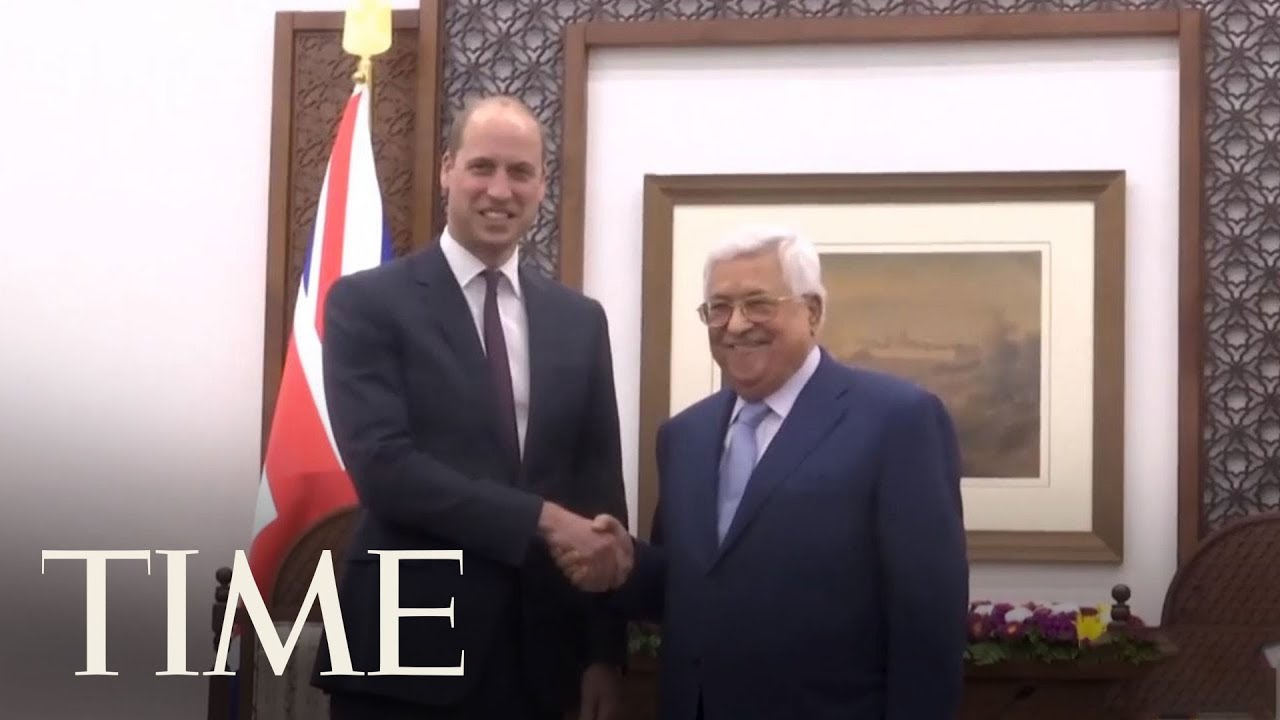 Prince William Meets Palestinian Leader Abbas | TIME