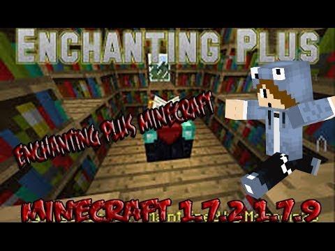 Minecraft 1.7.9/1.7.2/1.6.4 -  Instalar Enchanting Plus MOD - Tutorial Español