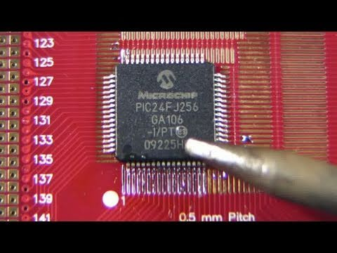 EEVblog #186 - Soldering Tutorial Part 3 - Surface Mount