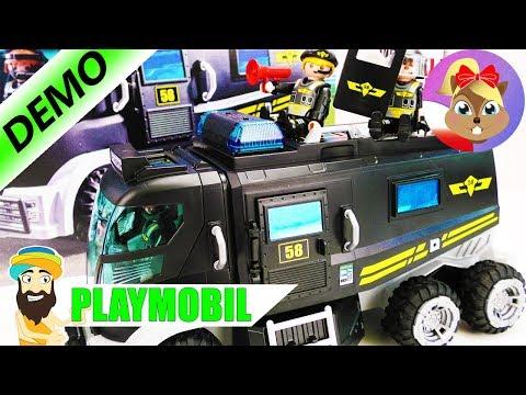 Zestaw Playmobil - Policyjny Wóz Patrolowy, Po Polsku |Playmobil Zabawki Dla Dzieci | Baw Się Ze Mną