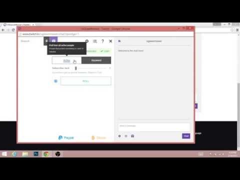 Twitch Google Chrome Tutorial