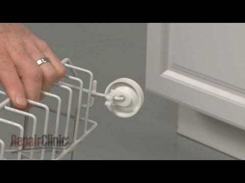 Dish Rack Roller Axle - GE Dishwasher