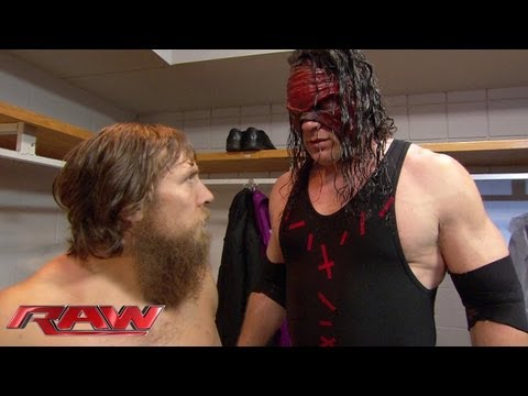 Daniel Bryan and Kane debate the future of Team Hell No: Raw, June 17, 2013