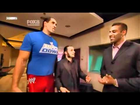 Great Khali New Punjabi Friend (WWE) Jinder Mahal confronts Khali in the Ring