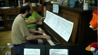 Super Mario World Ending Theme sight-read by Tom Brier