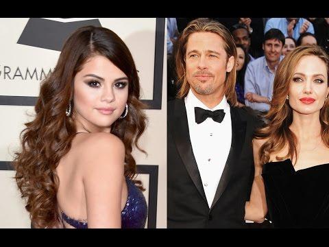 ¿Brad Pitt Engaña a Angelina con Selena Gómez?