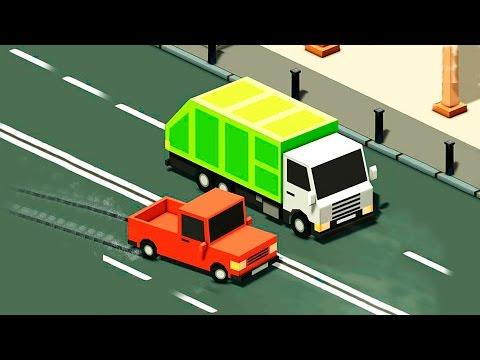 Машинки - Скорая помощь Пожарная машина у видео для детей - Учимся водить машины. Мультфильмы