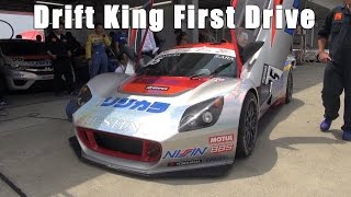 Drift King Keiichi Tsuchiya Test Drives the Inter Proto Race Car