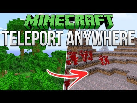 Minecraft: Teleport Anywhere Exploit Tutorial