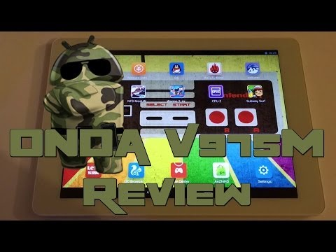 ONDA V975M Chinese tablet Review