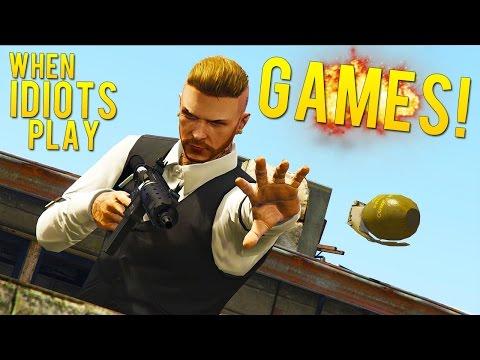 Grenade Alert! (When Idiots Play Games #1)