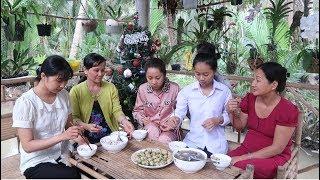 Món Này Vừa Đẹp Vừa Ngon Lại Có Thể Đãi Khách - Đậu Bún Kho Chả Cá - Em Gái Quê - Bến Tre