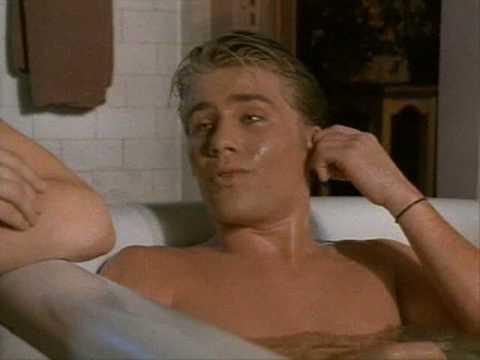 Awkward Half-Naked Boys Bathing Scene