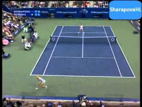 Maria Sharapova Vs Nadia Petrova US Open 2005 Highlights