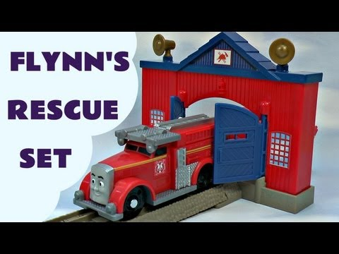 Thomas The Train Trackmaster Fiery Flynn's Rescue Set Kids Toy Train Set Thomas And Friends