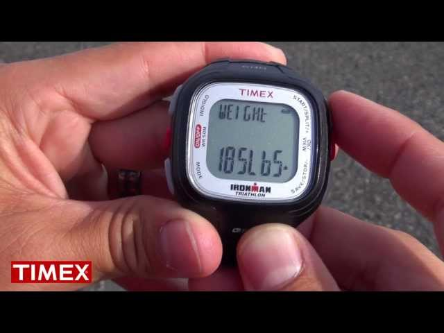 Timex Ironman Easy Trainer GPS — Getting Started