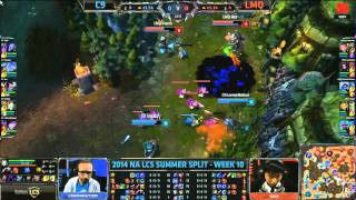Video clip [28.07.2014] C9 vs LMQ [LCS NA Hè 2014]