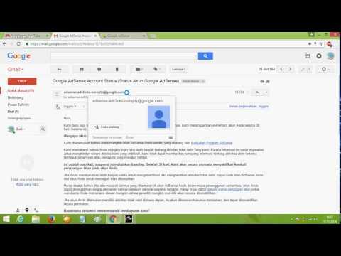 Suspended Google AdSense Account For 30 Days/ Penangguhan Akun AdSense YouTube Akibat Klik Tidak Sah