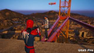 GTA 5 Crazy Spiderman Ragdolls Compilation #14 (GTA 5 Fails Funny Moments/Ragdolls)