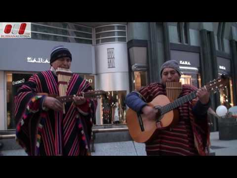 El-Sikuri Duo (Bolivia). Guitar. Vienna Street Performers by RussianAustria (Full HD)