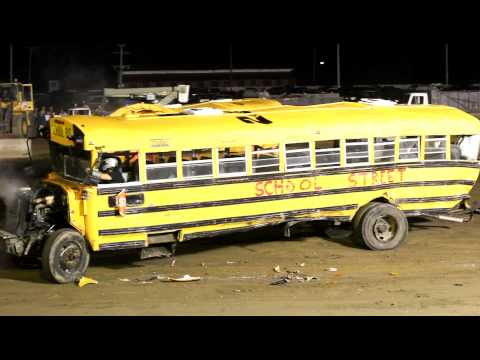 School Bus Demolition Derby