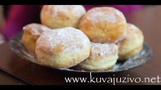 Krofne/ Video recept 09:01