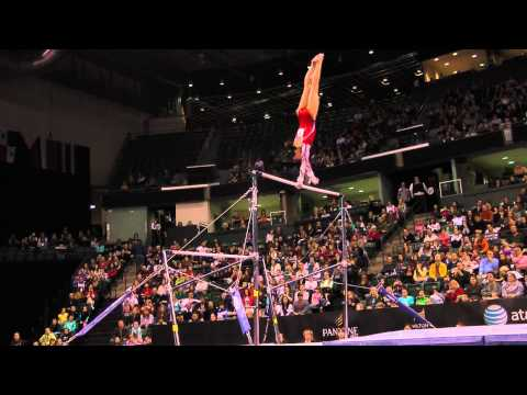 Kyla Ross - Uneven Bars Finals (2nd place) - 2012 Kellogg&#039;s Pacific Rim Championships