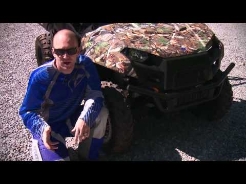2013 Polaris Ranger 800 Test Ride