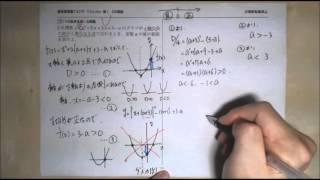 【てらtube】数Ⅰ 2次関数 19.3つの条件を用いる問題