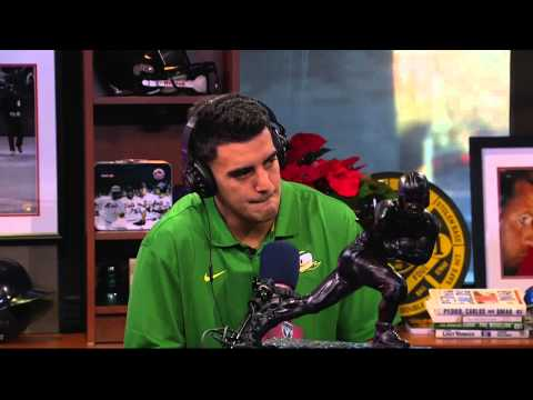Marcus Mariota on The Dan Patrick Show (Full Interview) 12/15/14