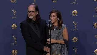 Emmys Proposal - Glenn Weiss & Fiancé - Full Backstage Q&A