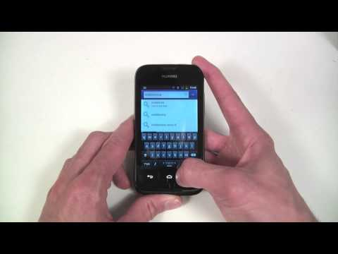 Huawei Ascend Y210 unboxing and hands-on