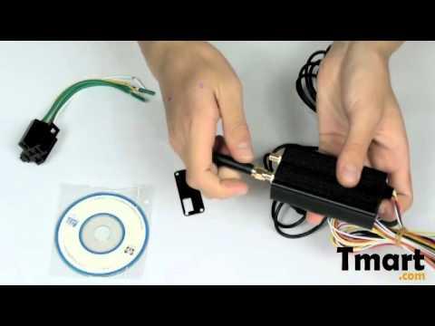 $85.79 Tk168 High Quality Car Gsm   Gprs   Gps Tracker Black-12003502 video